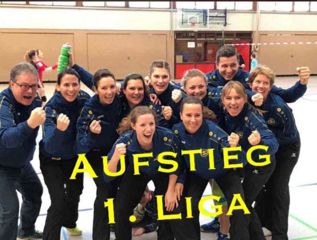 Schwieberdinger Frauen steigen in die Bundesliga Süd auf !
